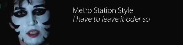 Metro Station Music